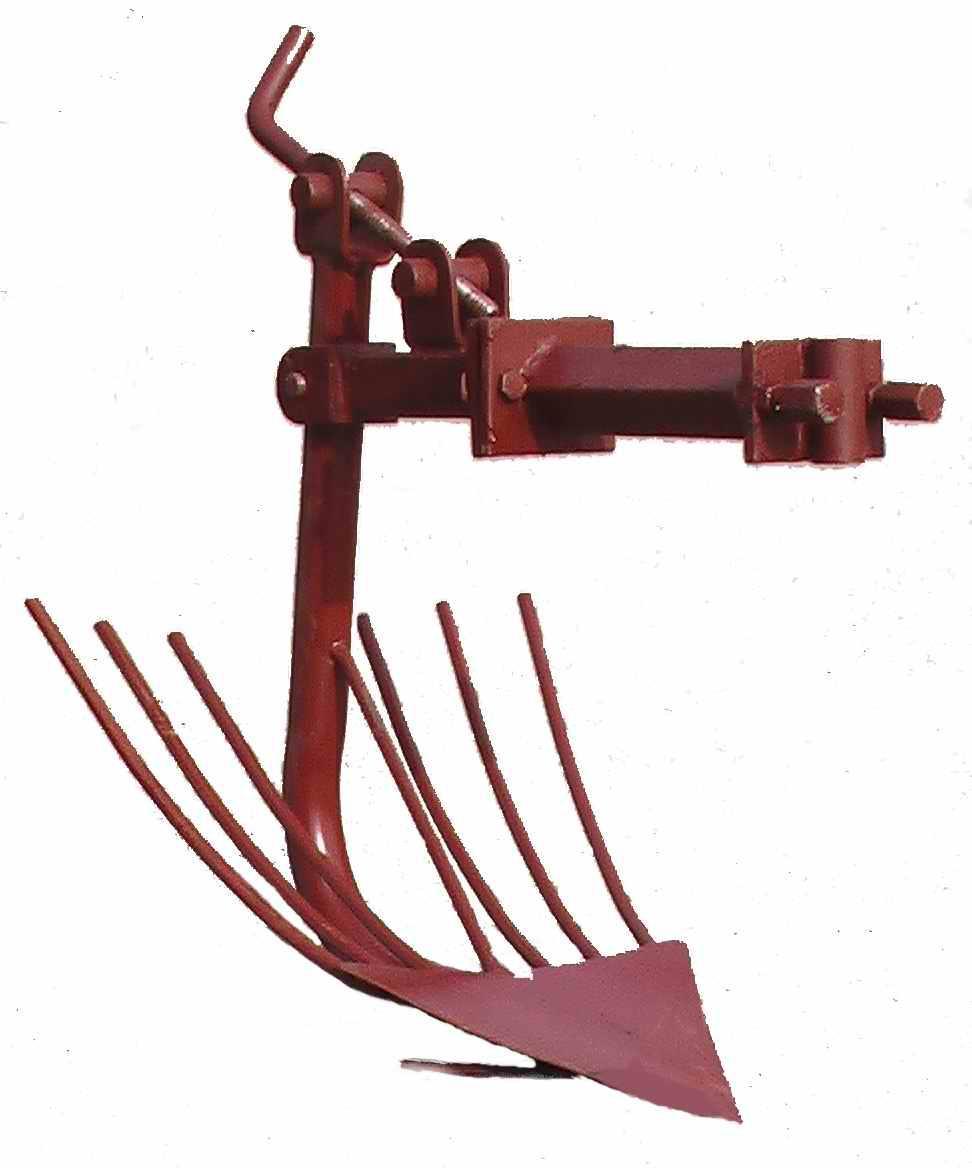 Картофелекопалка для культиватора своими руками чертеж